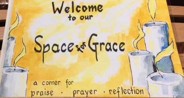 Space for Grace after the 9.30am Service
